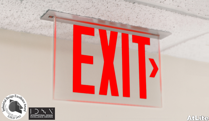 Image Result For Edge Lit Exit Signs