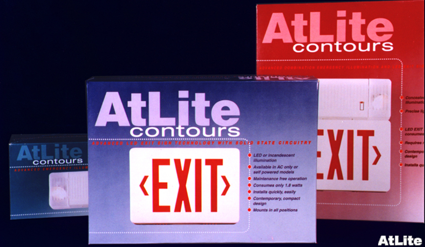 ... One of the first EXIT signs with a long-life energy-efficient LEDs ... & Designspring Lighting Product Portfolio